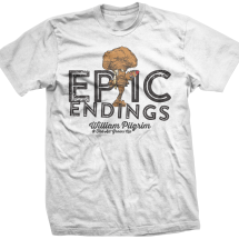 Epic Endings Tee: Men's Atomic Girl